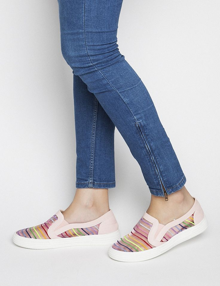 Spring Summer New Collection -Rainbow Pink #keepfred #fred #sneakers #shoes #outfit #style #fashion #new #collection #spring #colors #women #casual #sport #look #rainbow #pink