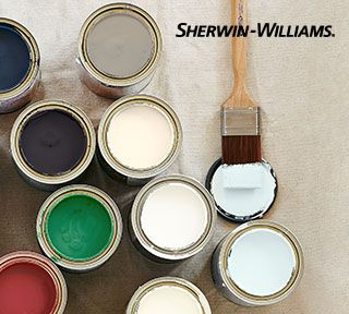 $15 off $60 at Sherwin Williams. Coupon on Pottery Barn site