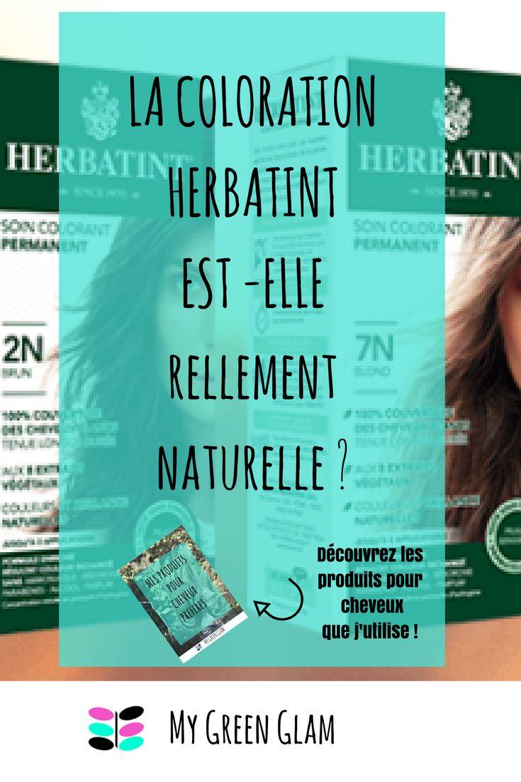 la coloration herbatint est elle rellement naturelle analyse complte de la composition et liste - Coloration Cheveux Produits Naturels