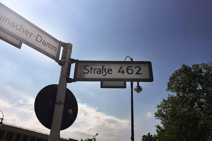 Уличные таблички Берлина
