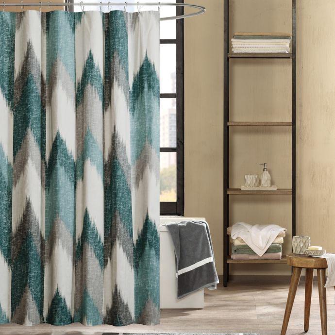 Ink Ivy Alpine 72 Inch Shower Curtain Bed Bath Beyond Turquoise Shower Curtain Curtains Shower Curtain Ink and ivy shower curtain
