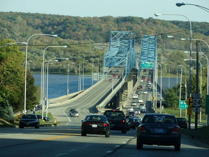 McClugage Bridge, Peoria, Illinois