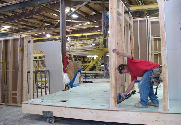 15 best modular panelized construction images on - Florida building code interior walls ...