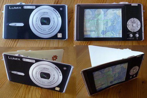 Geldkarte für eine Kamera