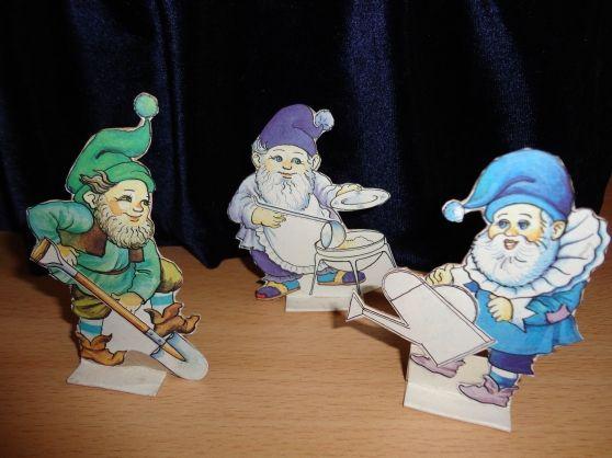 «Белоснежка и семь гномов» (настольный театр картинок) - Для воспитателей детских садов - Маам.ру