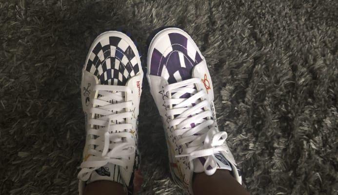 Leather Check Sk8 Hi | Shop Classic Shoes | Vans, Vans
