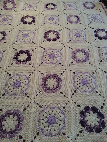 Ravelry: alittlemorerandom's African Flower Blanket