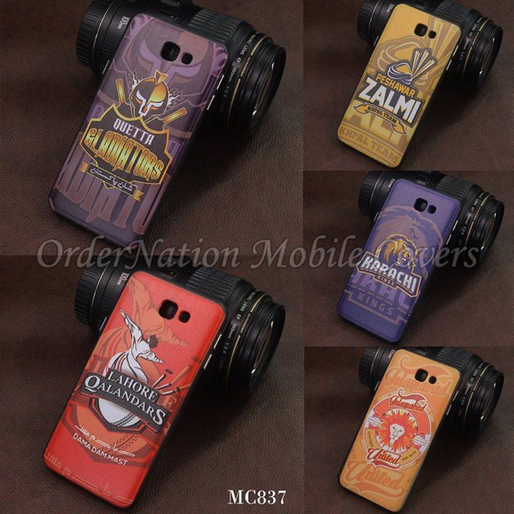 Price Rs.550 With Cash on delivery MC837 - PSL Teams PC Hard Cover For Smart Phones Available Models:Samsung Grand Prime (G530)Galaxy J5J7J510J710iPhone 6siPhone 7iPhone 7 Plus To Place Order: 1.Whatsapp us: 03064744465 2.Inbox us 3. Website:http://ift.tt/2klr2RA - http://ift.tt/1MNMhRR