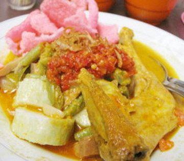 Ketupat Sayur from Padang