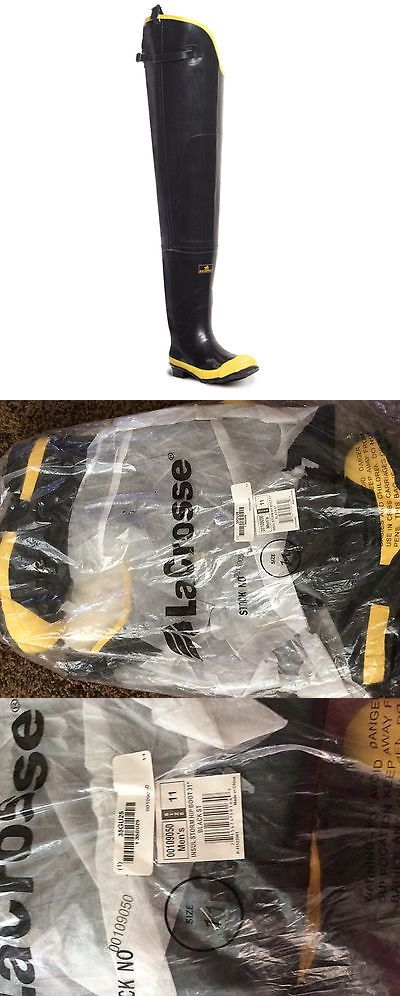 Waders 177876: Lacrosse Insulated Storm Steel Toe Hip Boots 31 00109050 - Men S Size 11 -> BUY IT NOW ONLY: $89.99 on eBay!
