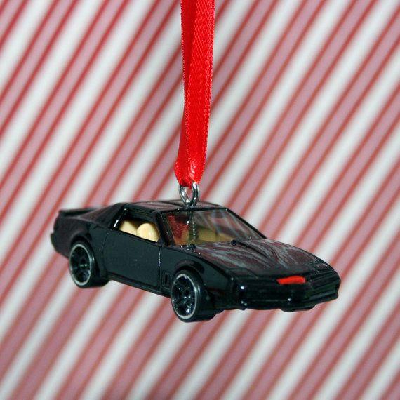 KITT from Knight Rider Christmas Ornament !