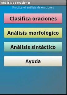 APP para que los alumnos practiquen de forma interactiva la sintaxis. ( Actividad destinada a alumnos de 4 ESO)