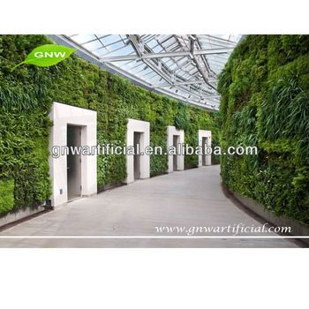 GNW GLW063 artificial moss grass wall for decoration garden green wall sydney for building decoration