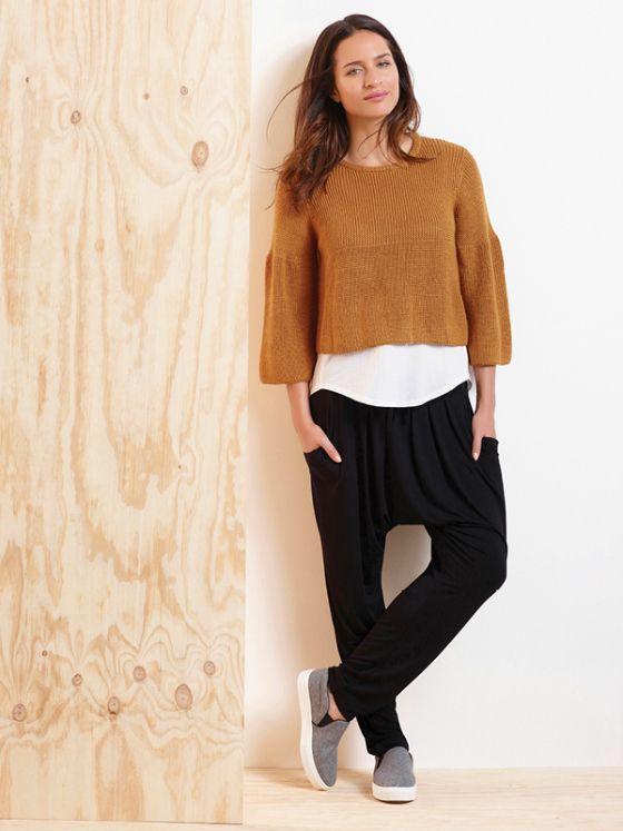 Metalicus Adriana knit | Luna tank top | Columbus pants