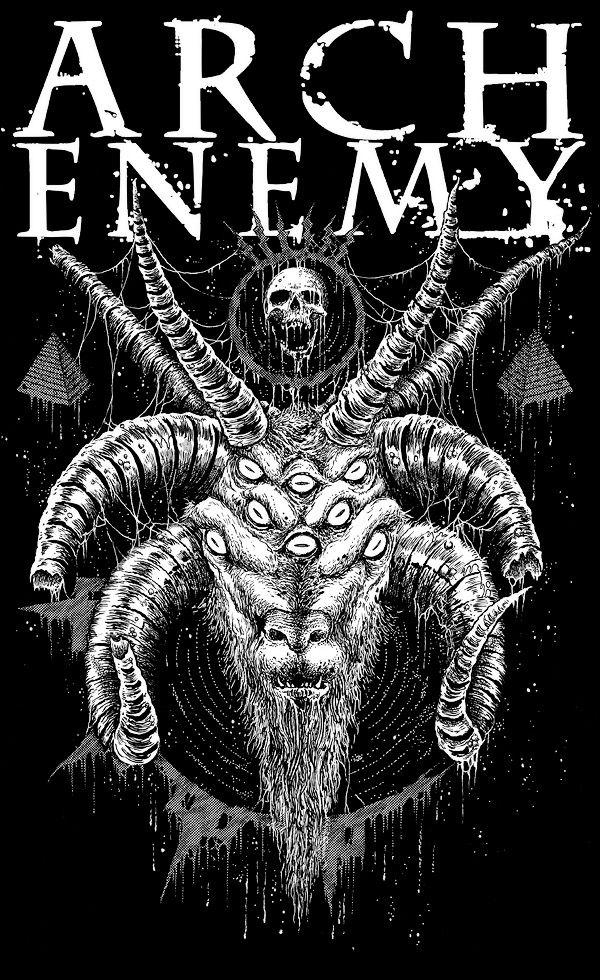 Pin By Simar Singh On Heavy Metal Arch Enemy Metal Band Logos
