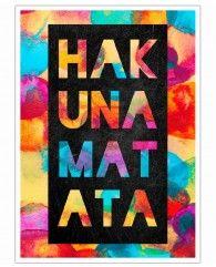 Hakuna Matata 1-Poster