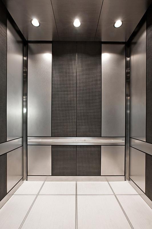 Levele 101 Elevator Interior With Customized Panel Layout