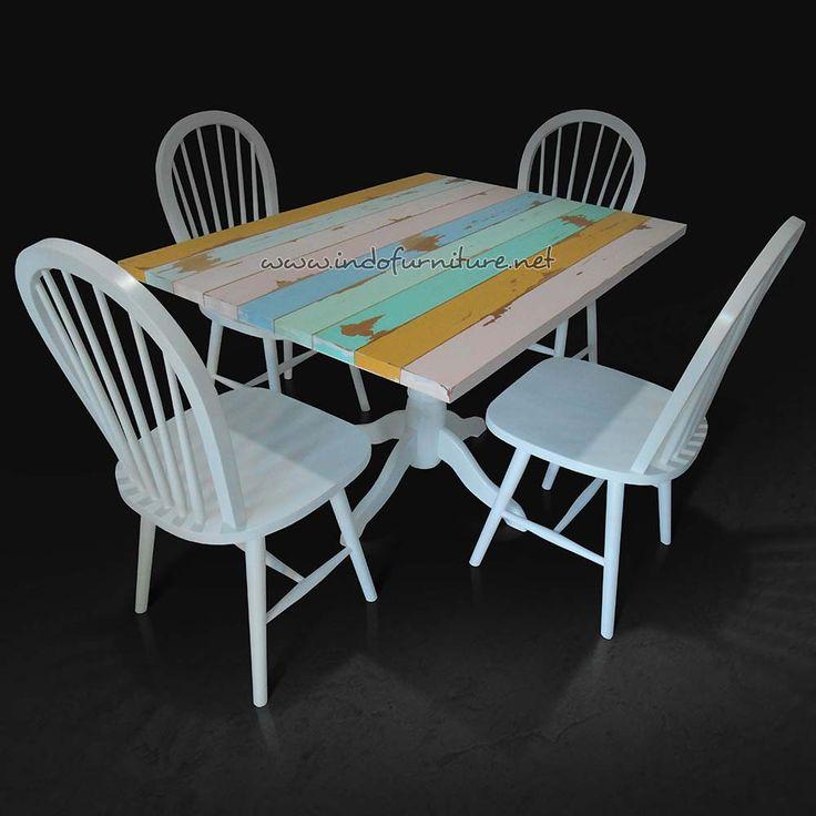 Set Meja Kursi Cafe Untuk Remaja | Indo Furniture
