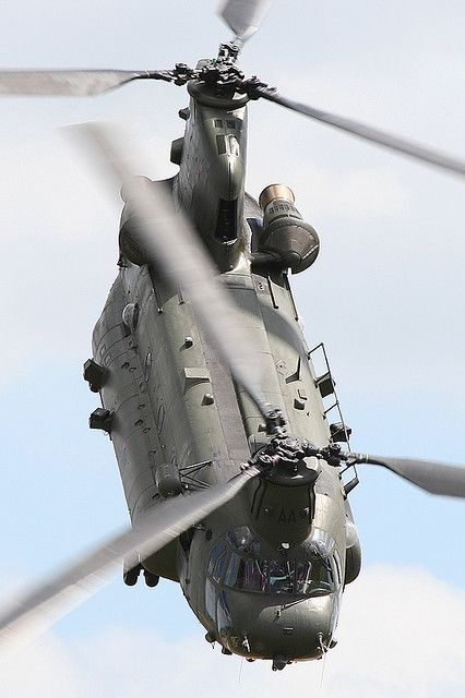 RAF Chinook by Dean West on Flickr.