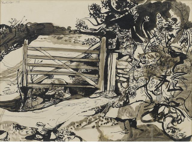 John Minton, Gate ***For London Sale