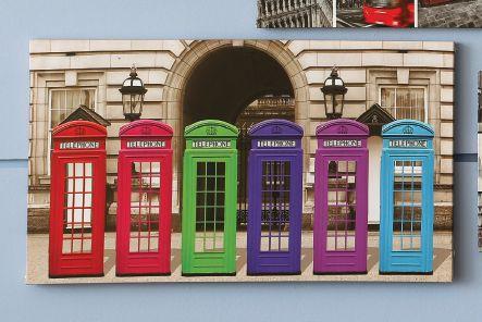 ¿Cómo se vería este cuadro en tu pared? Únete a la moda de #UK y ven a #Easy.  #London #Deco #Vintage #British #TiendaEasy #EasyTienda
