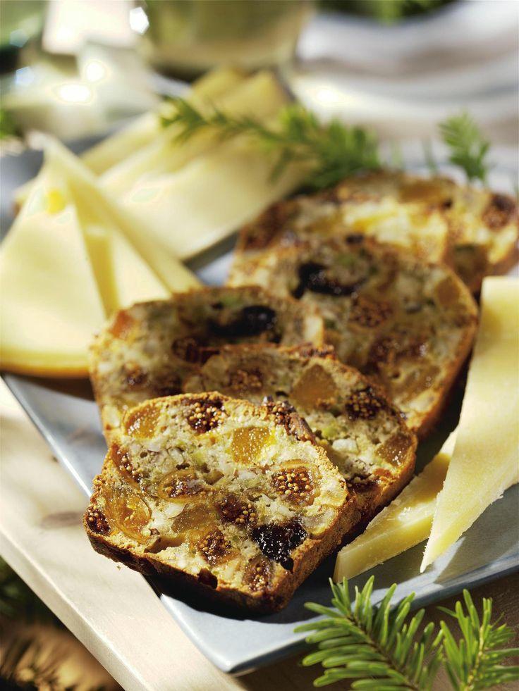 Recette cake aux fruits et fromages des alpes - Cuisine /...