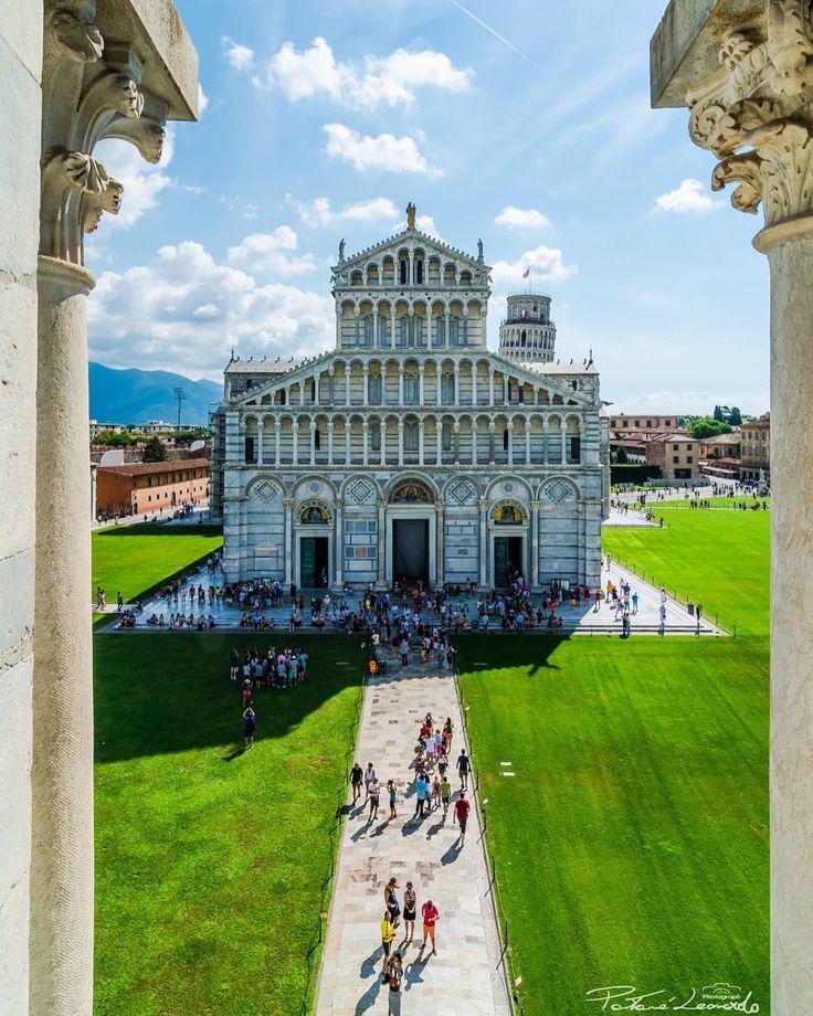 Oggi la mia prima volta a Pisa, davvero una meraviglia