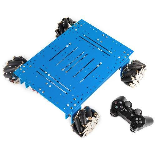 Mecanum Wheel Robot Kit with Orion and Handle