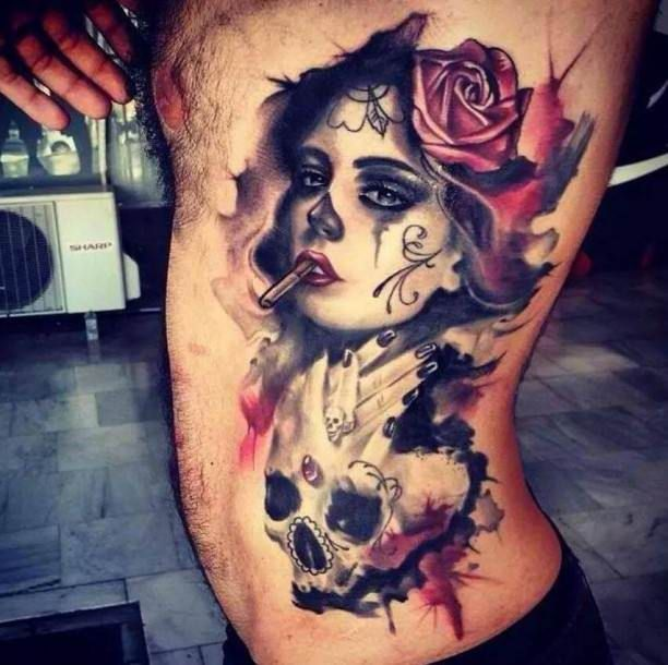 best 25 black red tattoo ideas on pinterest tattoo rose. Black Bedroom Furniture Sets. Home Design Ideas