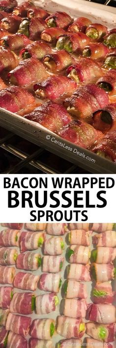 Eating your vegetables has never been more delicious than this. The goodness of brussels sprouts wrapped in crave-able bacon makes for one ah-mazing addition to snack table or meal time!