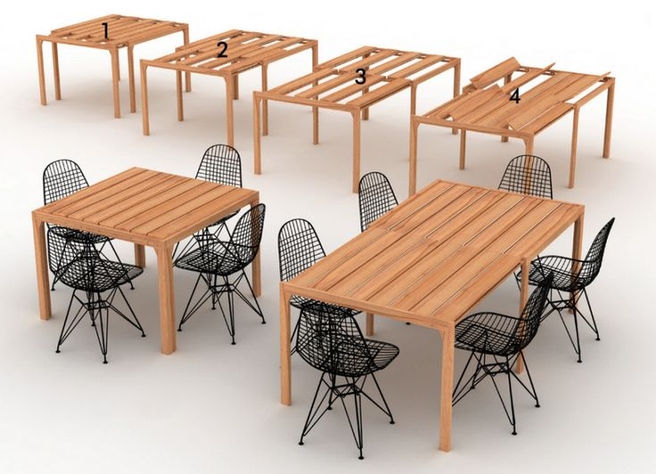 An Alternative Design Approach to Expandable Tables - Core77