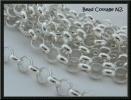 Rolo Chain 7mm Link Silver