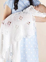 Royal Crochet Baby Shawl - Project - Spotlight Australia