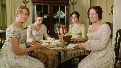 The Bennet sisters, Pride and Prejudice, 1995