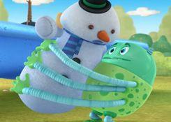 DoctoraJuguetesJuegos.com - Juego: Rompecabezas Abrazo del Marciano - Juegos de Puzzles de Doctora Juguetes Disney Jugar Gratis Online