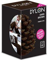 DYLON Koyu Kahverengi - Dark Brown - Fabric Dye With Salt     www.gagva.com.tr internet sitesinden bulabilirsiniz..