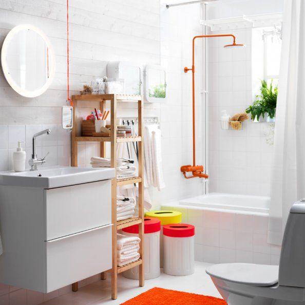 Une salle de bains pop IKEA #ikea #ikea2015