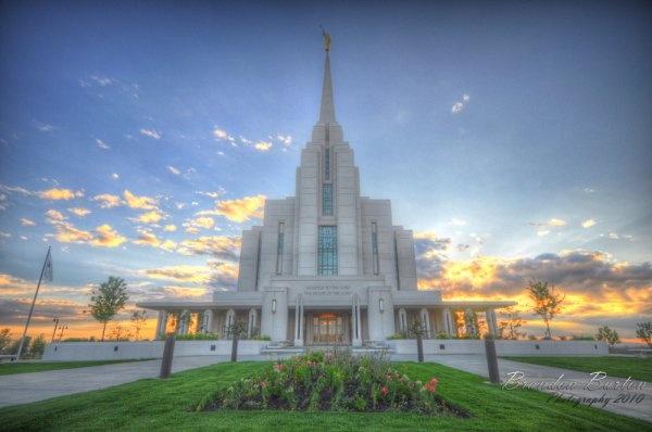 Rexburg Idaho Temple - Session