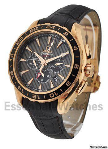 Omega Chronograph Aqua Terra watch only $17,500