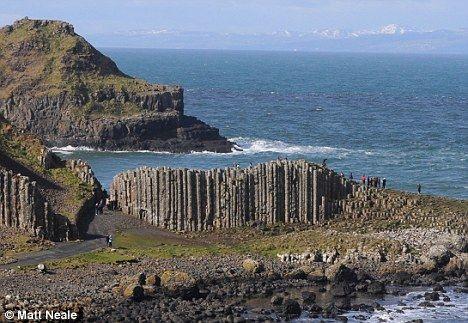 Giant causeway in scotland