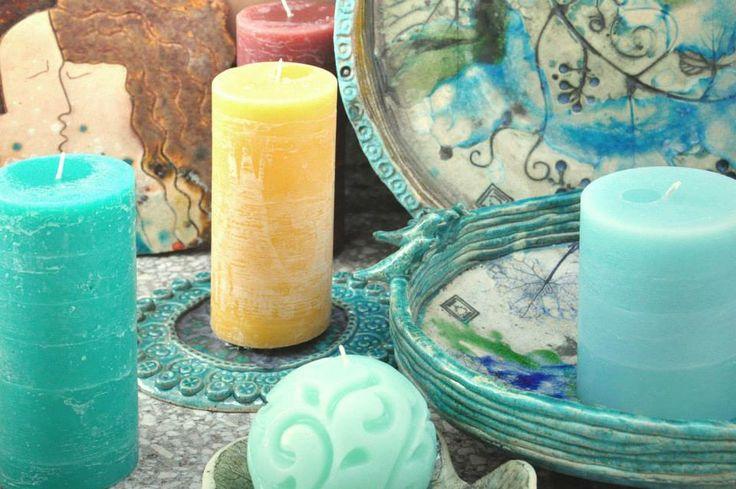 Mezalians candles and ceramics Mezalians świec i ceramiki