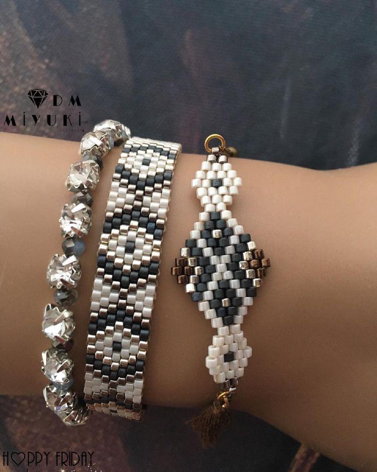 ԋαρρყ ϝɾιԃαყ ϱüмüş υγυмυ —————————————— #miyuki #wristband #tarz #happy #handmade #design #love #instalike #instagood #instalove #instajewelry #jewelry #like4like #accessories #aksesuar #bayan #takı #moda #fashion #stylish #style #art #trend #gümüş #silver #colors #colorful #bileklik #bracelet #takı