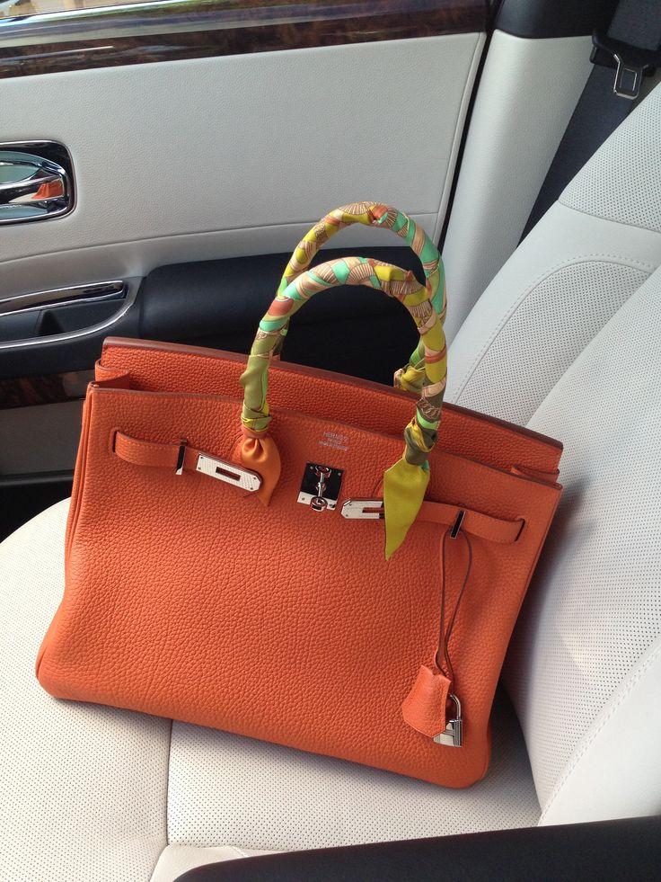 best hermes replica - orange hermes bag