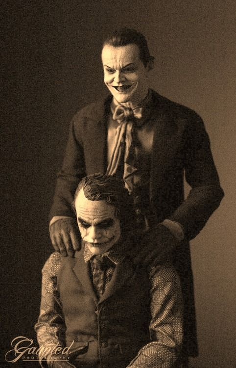 Jokers, Heath Ledger and Jack Nicholson