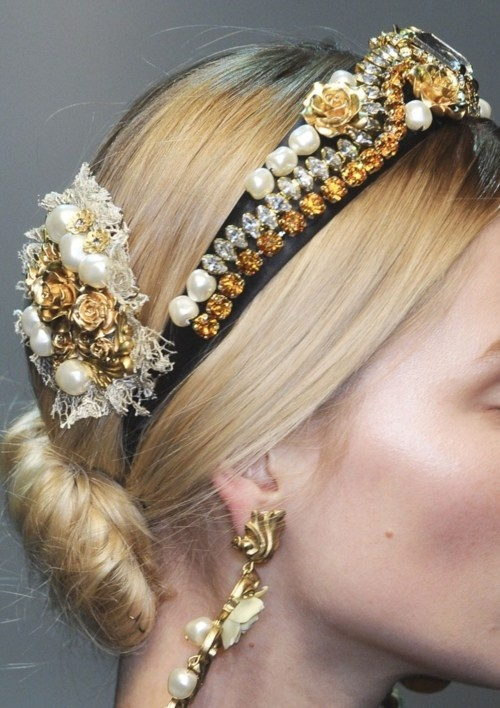 dolce and gabanna Fall 2012
