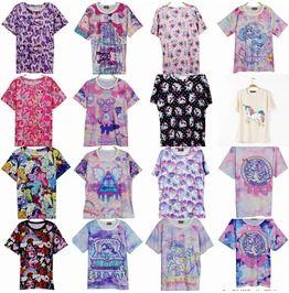 Pony T Shirts / Camisetas Unicornio Wh256