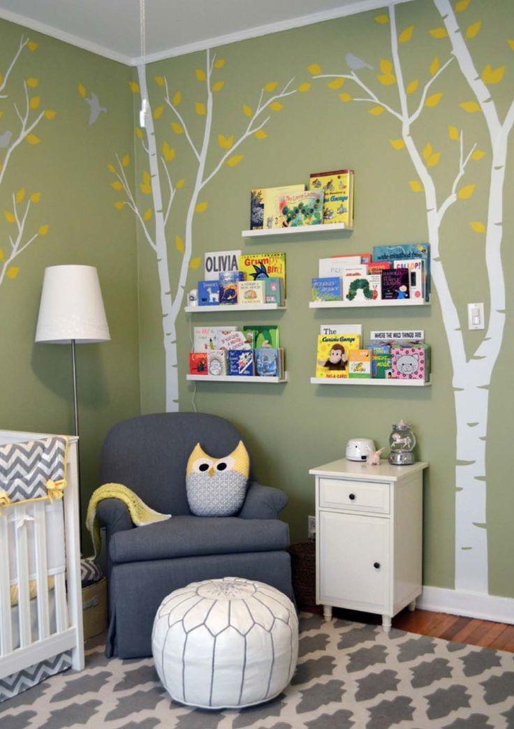 45 Erstaunliche Dekorationsideen für ein stilvolles Kinderzimmer