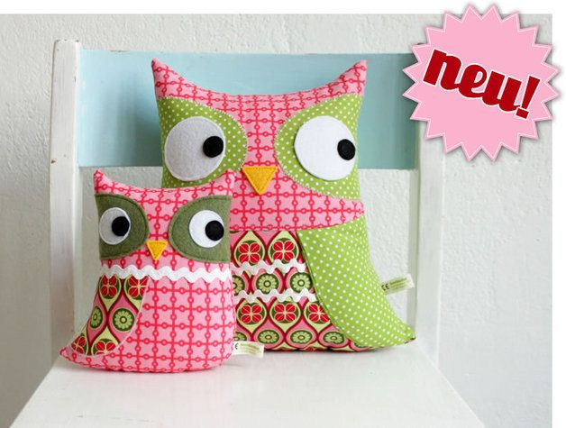 "Nähanleitung Eulen ""Uggla"" // Sewing instruction ""Uggla"" owls by RevoluzZza via DaWanda.com"