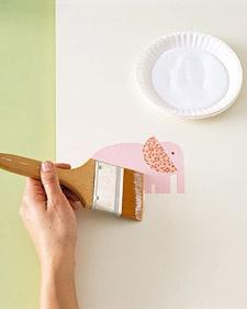 Decoupage Ideas for the Nursery - Martha Stewart Baby
