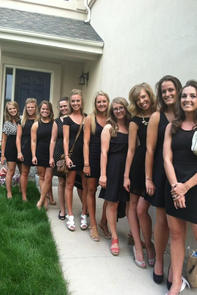 little black dress bachelorette party | Special Occations ...